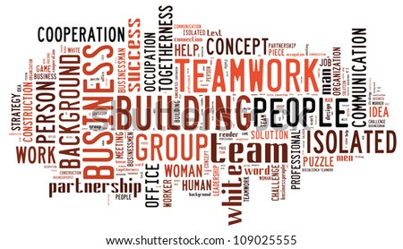 infotext graphics team work composed incloud stock illustration