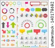 Infographic Elements Collection - stock vector
