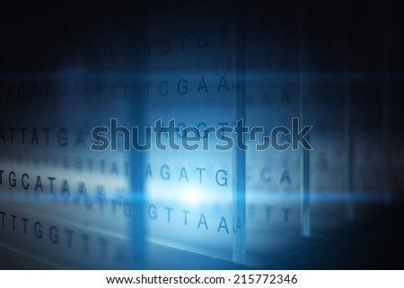 Information and technology, abstract technology background - stock photo