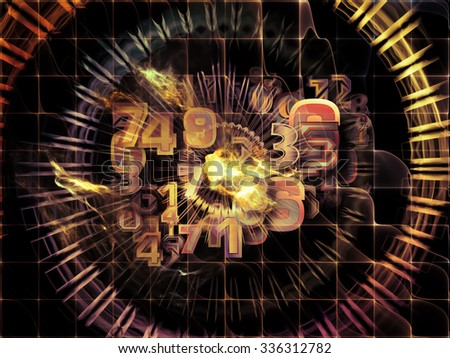 Information Cloud series. Composition of connected abstract elements suitable as a backdrop for the projects on cloud networking, information, data storage and modern technology - stock photo