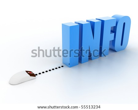 information concept - stock photo