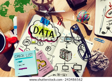 Information Design Data Creativity System Technology Idea Concept - stock photo