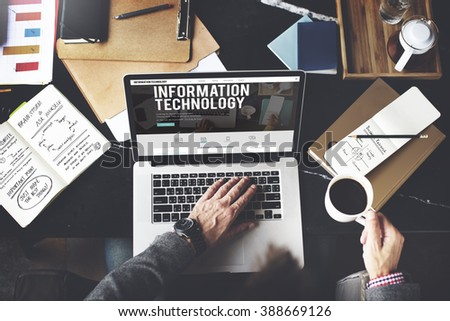 Information Technology Advanced Innovation Concept - stock photo