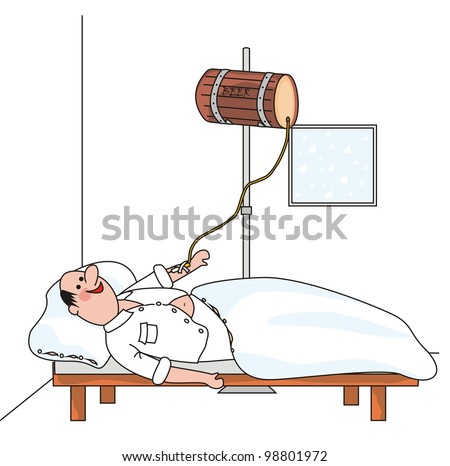 infusion - stock photo
