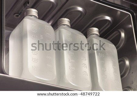 Infusion bottles - stock photo