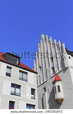 Ingolstadt Herzogkasten - stock photo