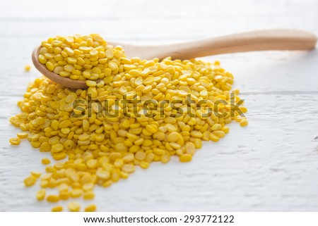 Ingredient : Bean seed - stock photo