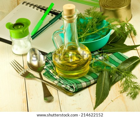 ingredients for cooking - stock photo