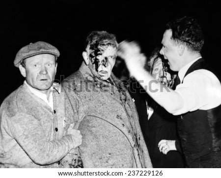Injured in the Hindenburg Crash Survivors are dazed and bloodied by the explosion fire and crashed.