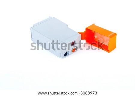 ink cartridge - stock photo
