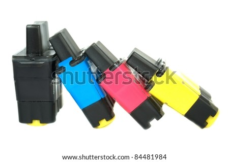 Ink cartridges - stock photo