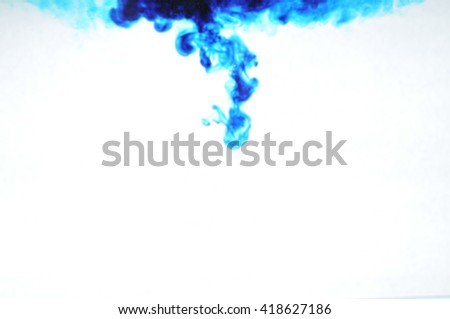 ink in water background   - stock photo