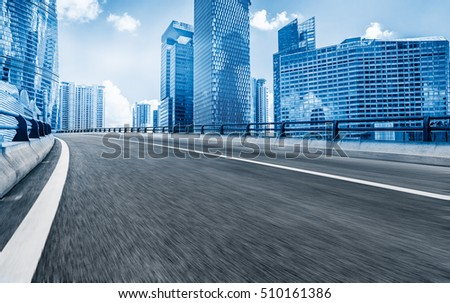 Inner City highway in China.