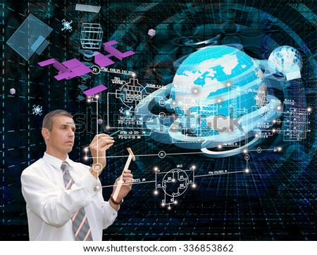 Innovation connection technology.Generation  innovation communications - stock photo