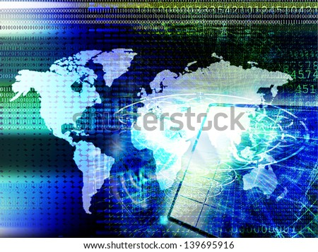 Innovative programming internet.Connect concept - stock photo