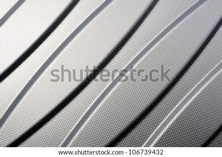 Inox metal kitchen sink background - stock photo