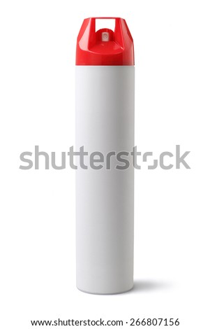 Insecticide Spray on White Background
