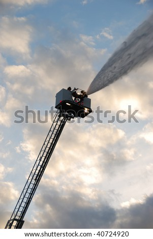 inservice training on new 100 foot stock photo 40724920 shutterstock