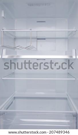 refrigerator inside empty. inside an empty refrigerator m