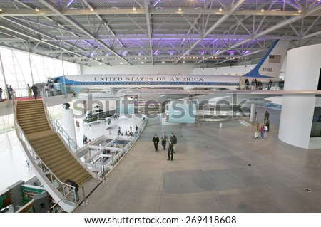 Inside The Air Force One Pavilion At The Ronald Reagan Presidential Library  And Museum, Simi