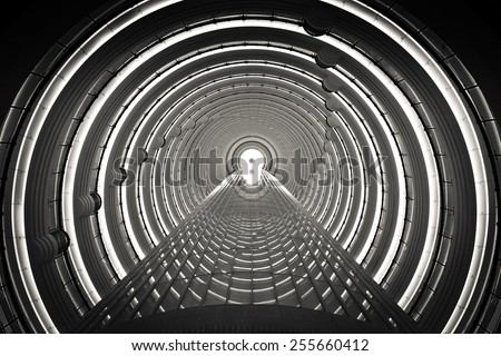 Inside the Time Tunnel