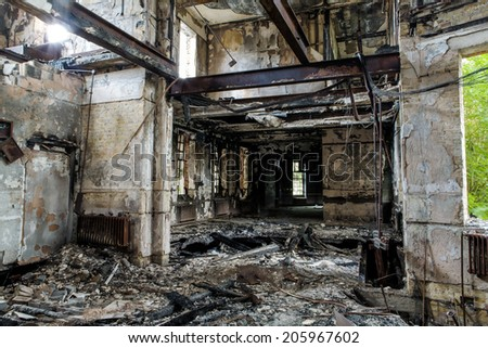 Burning Building Stock Images Royalty Free Images