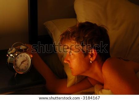 Insomnia - stock photo