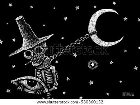 skeleton sleeping stock images, royalty-free images & vectors, Skeleton