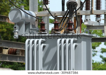 gas insulated switchgear outdoor electrical equipment stock photo 422570002 shutterstock. Black Bedroom Furniture Sets. Home Design Ideas