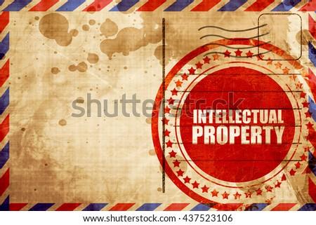 intellectual property - stock photo