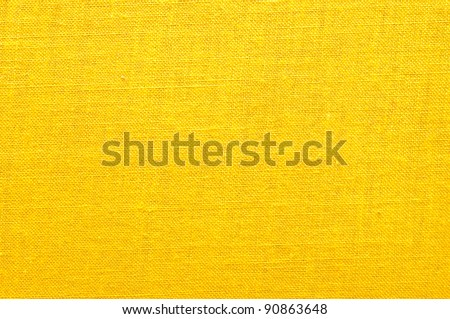 Yellow Cloth Texture Intensive yellow fabric