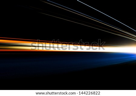 Interesting and abstract lights  that can be used as background or texture - stock photo