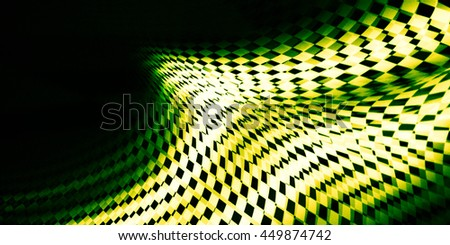 Interesting contrast geometric abstraction. Blurry textures. It contains elements of the checkered flag, suitable for design of the categories of speed, racing, rally, sports - stock photo