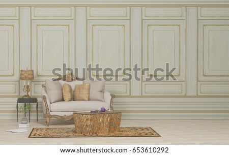 Classic Interior Stock Images RoyaltyFree Images Vectors