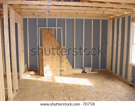 Interior Construction - stock photo