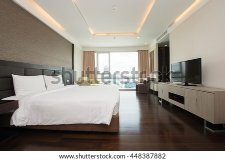 Interior design: Big modern Bedroom