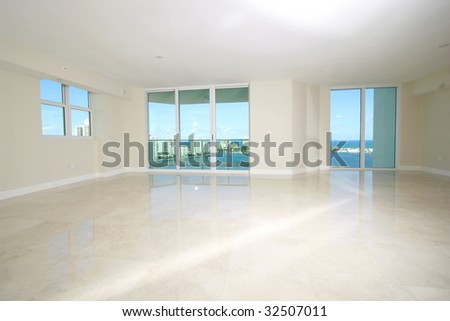 Interior Design blank presentation background