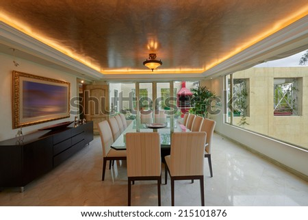 Interior design: Dining Room