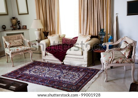 Interior Design Sitting Room Stock Photo 99001928 - Shutterstock
