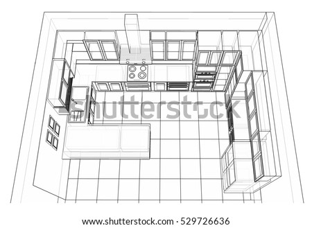 Kitchen Cabinets Stock Images Royalty Free Images Vectors Shutterstock