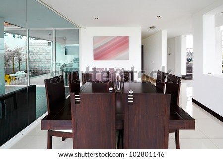 Interior design series: Modern Dining room