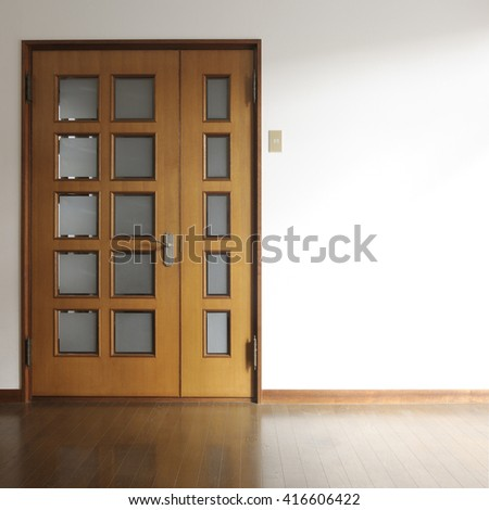 interior door - stock photo