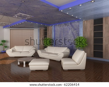 interior hall - stock photo