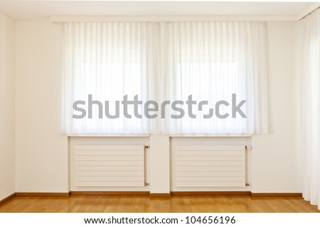 window with curtains