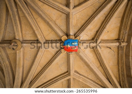 Interior in Oxford, England. - stock photo