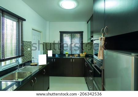 Interior kitchen of the Living hill sriracha-bowin - stock photo