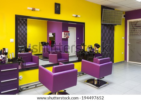 Parlor Interior Design Captivating Beauty Salon Interior Stock Images Royaltyfree Images & Vectors . Design Ideas