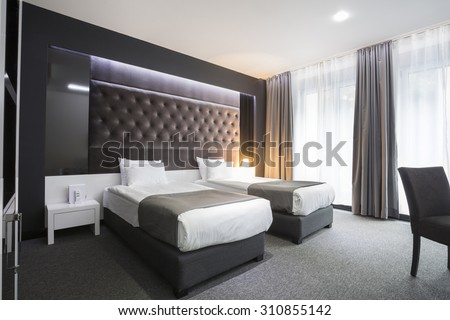 Hotel room stock images royalty free images vectors shutterstock - Beautiful snooze bedroom suites packing comfort in style ...