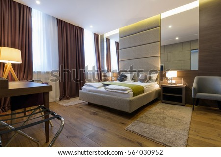 Modern Hotel Bedroom modern hotel bedroom stock images, royalty-free images & vectors