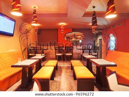 Modern Restaurant Interior Stock Images Royalty Free Images Vectors Shutterstock